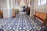 Wymiana podłogi w kościele
